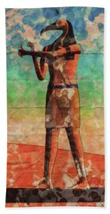 Thoth, God Of Egypt By Raphael Terra And Mary Bassett Hand Towel