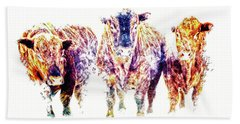 Hand Towel featuring the photograph Three Amigos by Amanda Smith