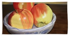 Three Apples Hand Towel