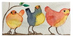 Three Birds  Hand Towel