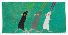Three Blind Mice Bath Towel