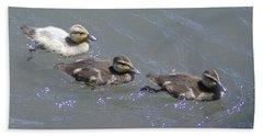 Three Duckies  Hand Towel
