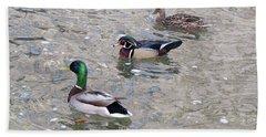 Three Ducks Hand Towel