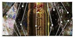 Bath Towel featuring the digital art Three Fifty Seven Sig by Iowan Stone-Flowers