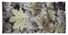 Three Leaves Hand Towel