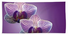 Three Orchids Bath Towel