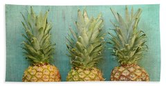 Three Pineapples Hand Towel