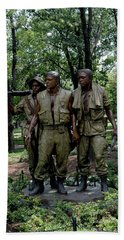 Three Servicemen Bath Towel