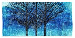Three Trees  Bath Towel