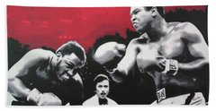 Thrilla In Manila Hand Towel