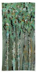 Through The Forest Hand Towel by Kirsten Reed