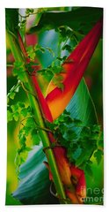Through The Vines Bath Towel