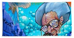 Throwback To Some #granny #graffitiporn Bath Towel