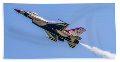 Hand Towel featuring the photograph Thunderbird #5 by Nick Zelinsky