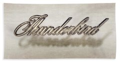 Thunderbird Badge Bath Towel