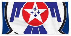 Thunderbirds Logo Bath Towel