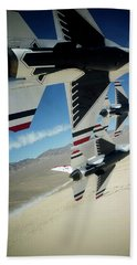 Thunderbirds Photo Bath Towel