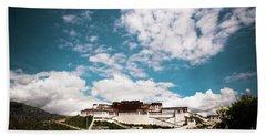 Tibet Potala Palace Dalai Lama Home Place. Kailash Yantra.lv 2016  Bath Towel
