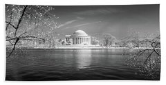Tidal Basin Jefferson Memorial Hand Towel