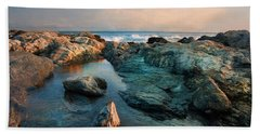 Hand Towel featuring the photograph Tide Pool by Robin-Lee Vieira