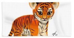 Tiger Cub Hand Towel