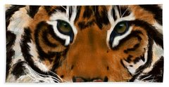 Tiger Eyes Hand Towel