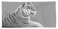 Tiger II Hand Towel