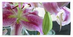 Tiger Lilies Bath Towel