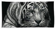 Tiger Pause Bath Towel