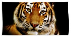 Tiger Hand Towel by Jacky Gerritsen