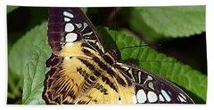 Tiger Print --- Clipper Butterfly Bath Towel