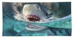 Tiger Sharks Bath Towel