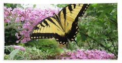 Tiger Swallowtail Bath Towel by Bill OConnor