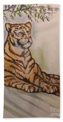 Tiger, Tiger Hand Towel