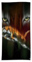 Tiger, Tiger Burning Bright Hand Towel