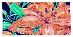 Tigerlilies Hand Towel