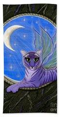 Tigerpixie Purple Tiger Fairy Hand Towel
