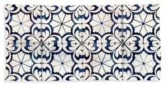 Tiles Souvenir Lisbon Hand Towel
