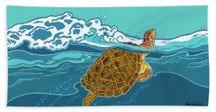 Tilly The Turtle Bath Towel