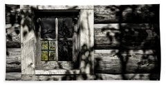 Hand Towel featuring the photograph Timber Hand-crafted by Brad Allen Fine Art