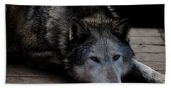 Timber Wolves Hand Towel