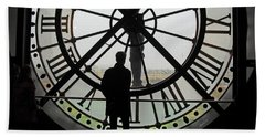 Time At The Musee D'orsay Hand Towel