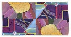 Time Goes By - The Joy Of Design Series Arrangement Bath Towel