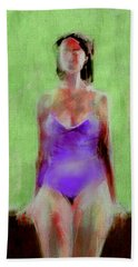 Time Out Bath Towel by Jim Vance