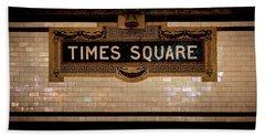 Time Square Bath Towel