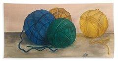 Time To Crochet Bath Towel