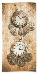 Timepieces From Bygone Fashion Hand Towel
