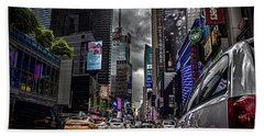 Times Square Nyc Hand Towel