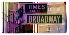 Times Square Hand Towel