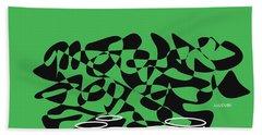 Timpani In Green Bath Towel by David Bridburg